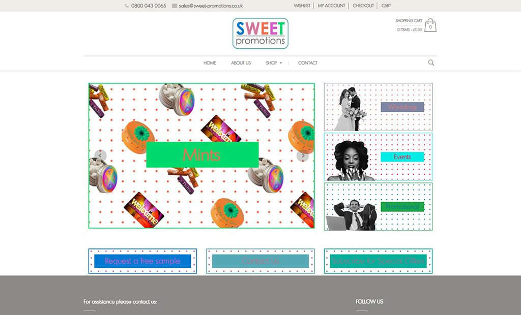 Completed WooCommerce Project: Sweet Promotions