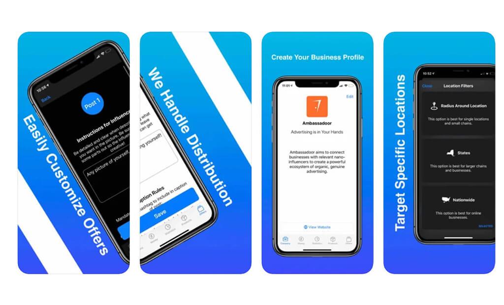 Ambassadoor Business app