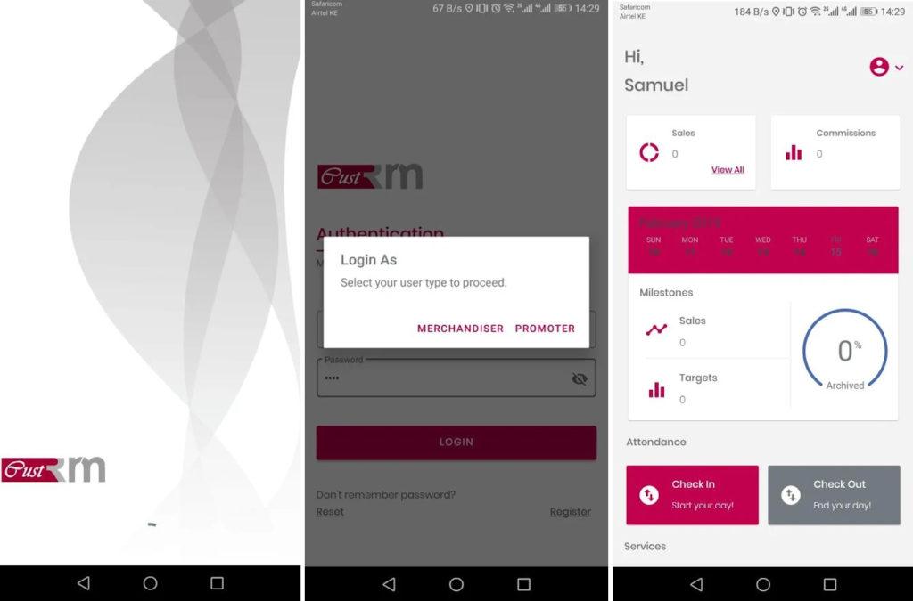 Android App Cust RM