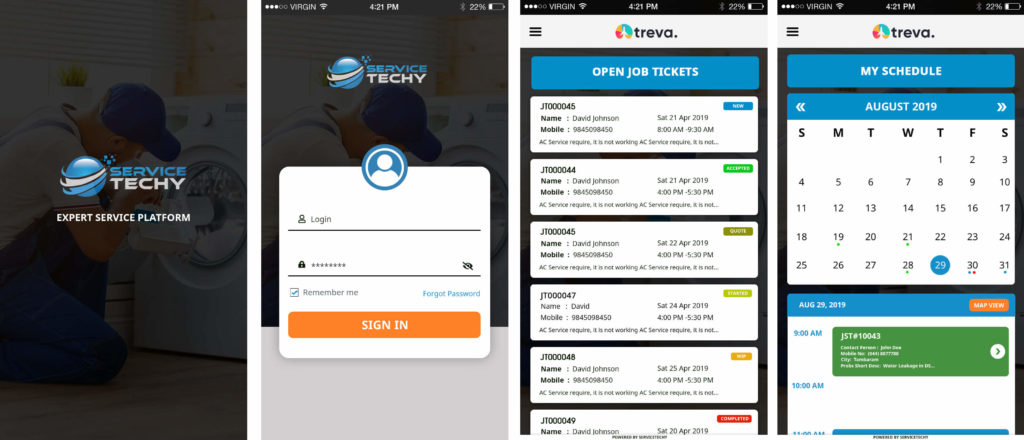Android App ServiceTechy